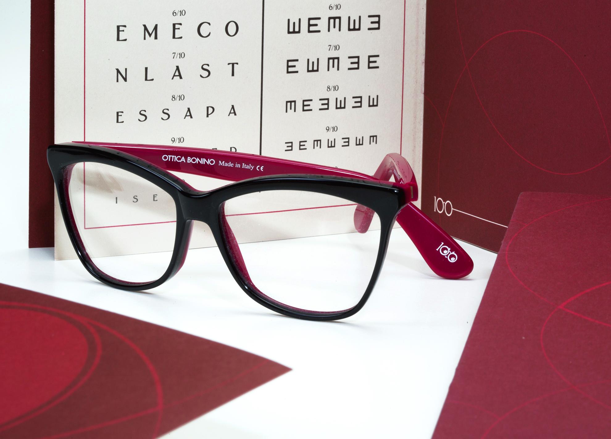 Verso il Centerario Ottica Bonino Dettaglio occhiali - Eleonora Casetta