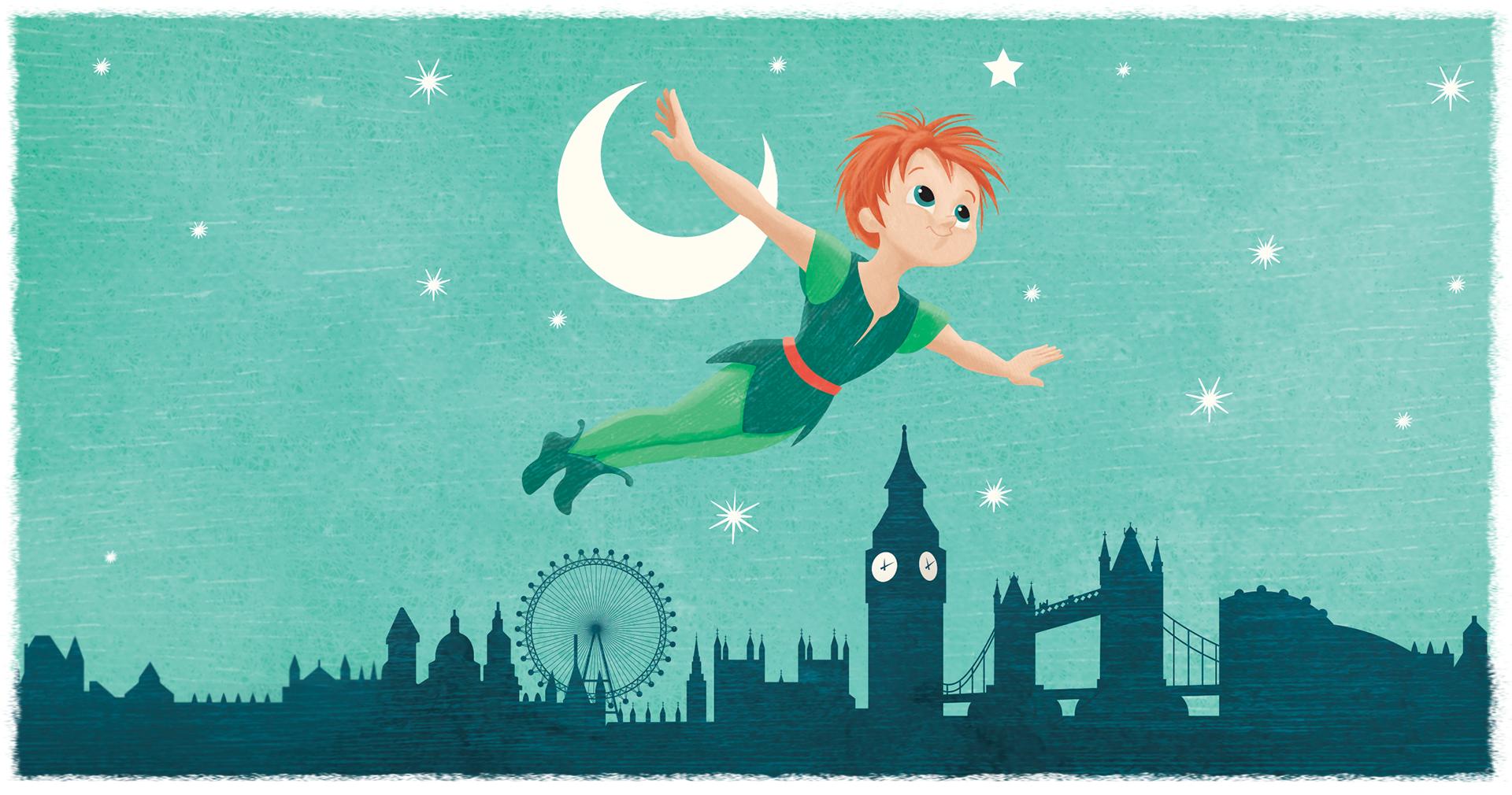 Pastiglie Leone Illustrazione Peter Pan - Eleonora Casetta