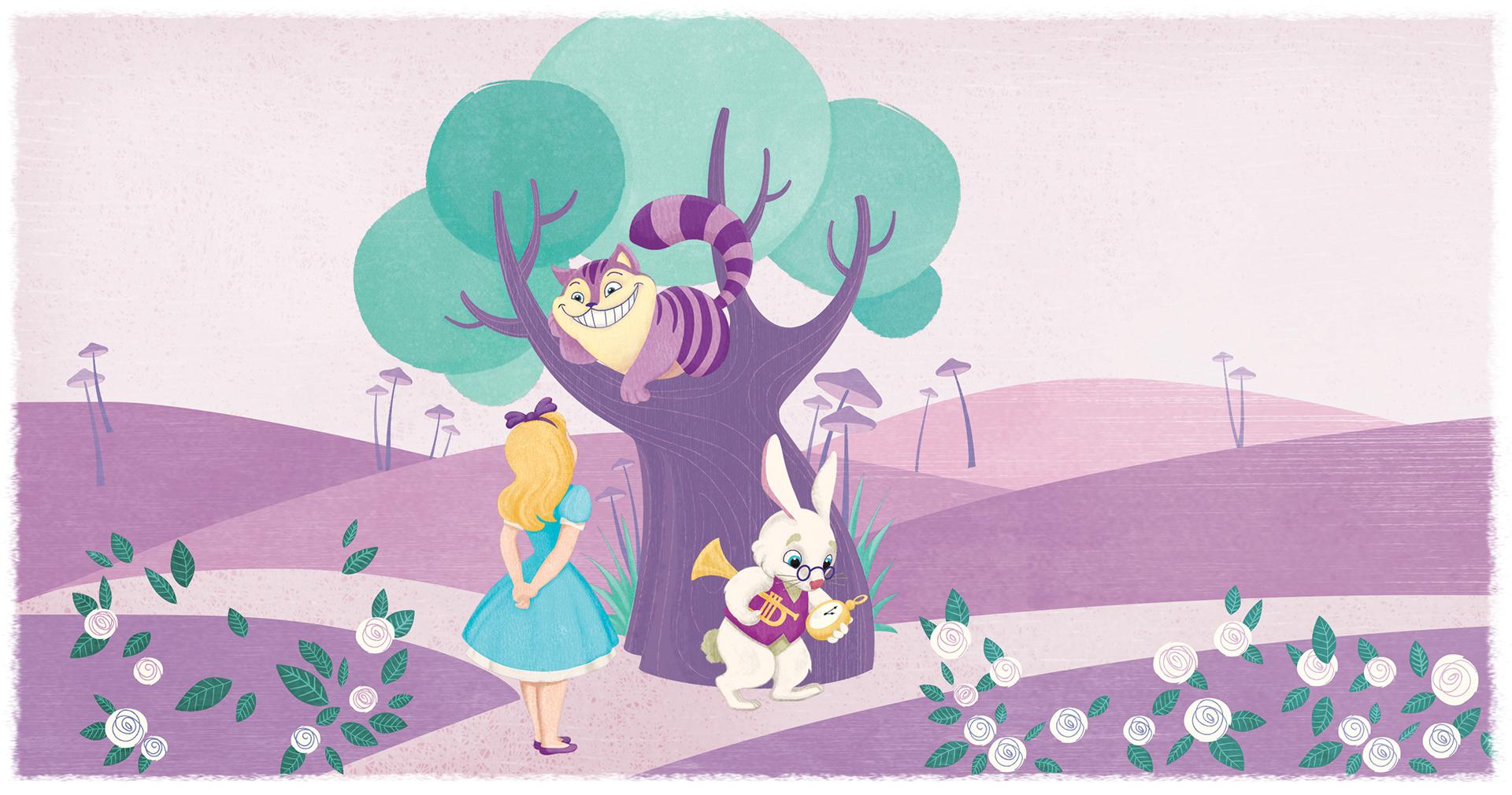 Pastiglie Leone Illustrazione Alice nel Paese delle Meraviglie - Eleonora Casetta