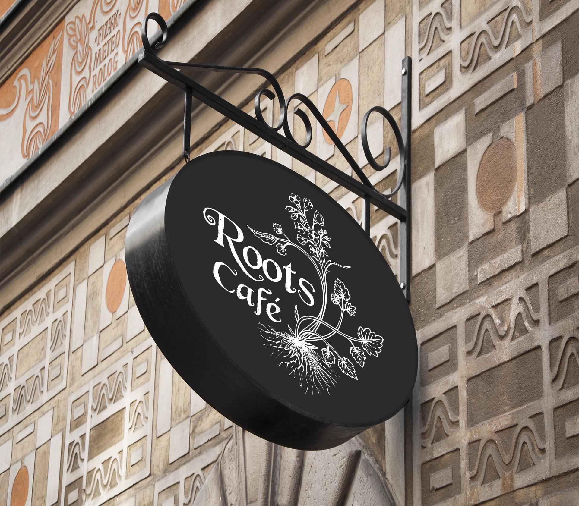 Roots Café Insegna - Eleonora Casetta