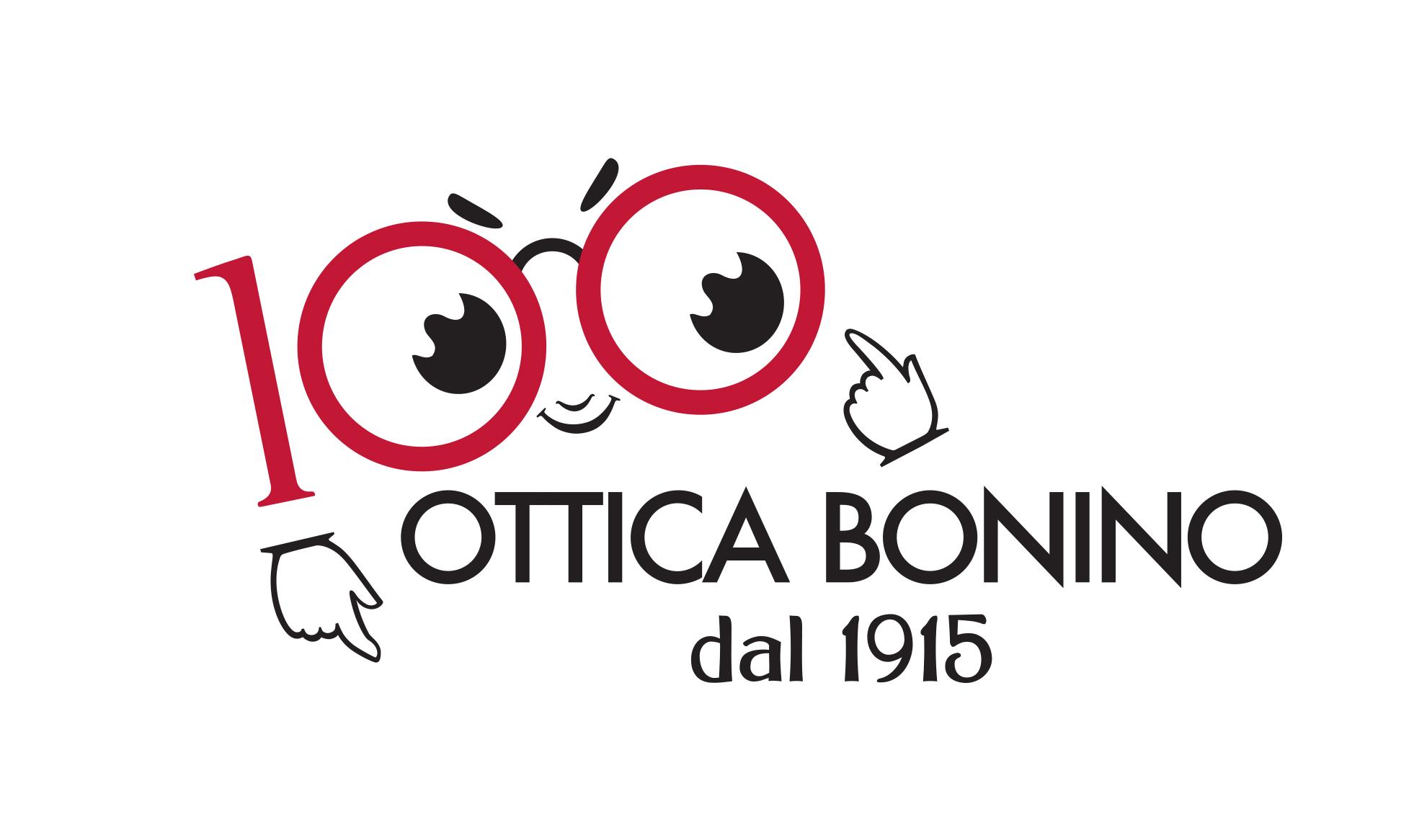 Verso il Centerario Ottica Bonino Logo - Eleonora Casetta