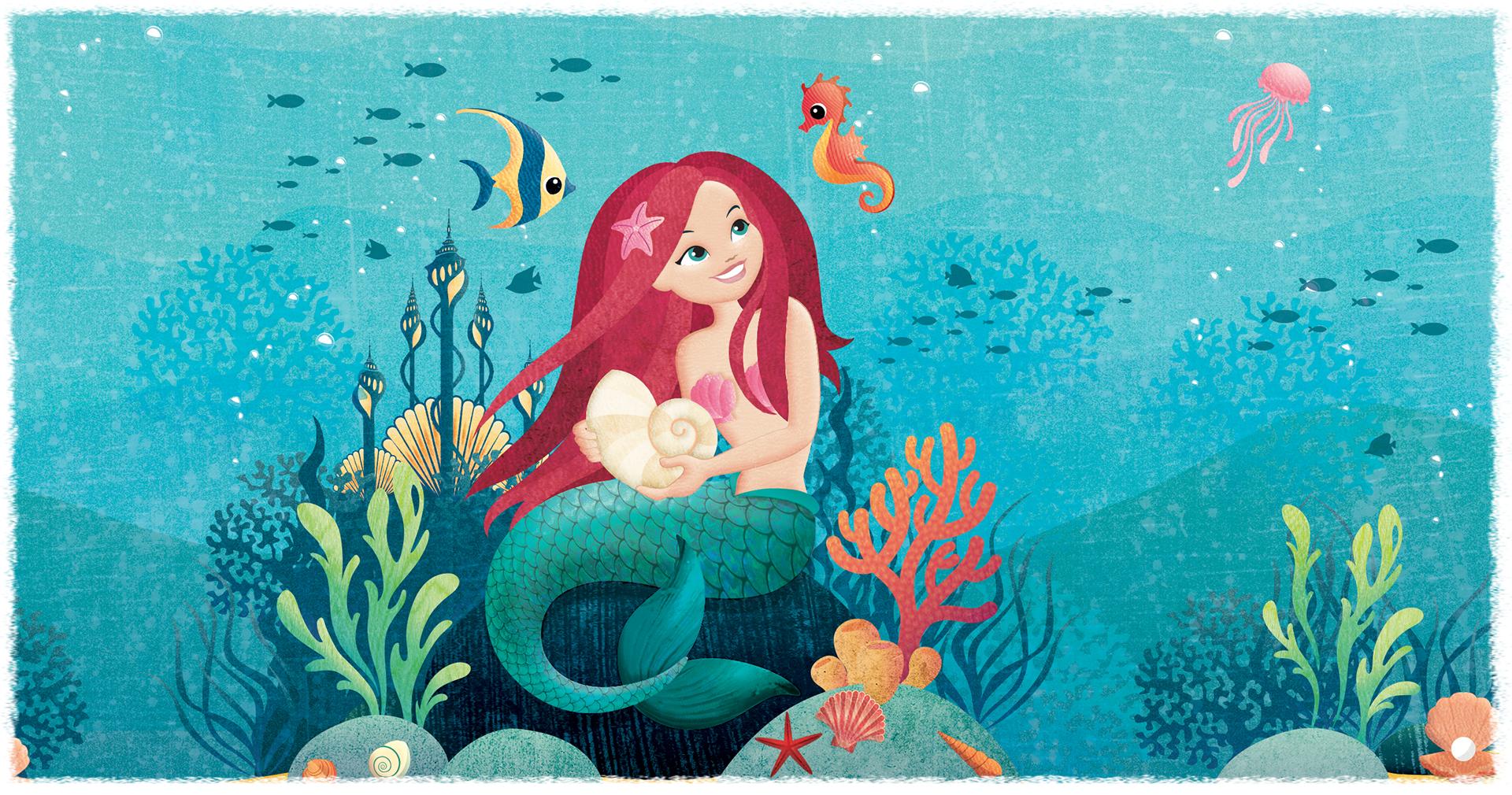Pastiglie Leone Illustrazione Sirenetta - Eleonora Casetta